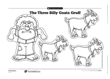 Billy Goat coloring #17, Download drawings