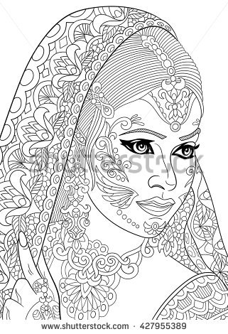 Bindi coloring #6, Download drawings