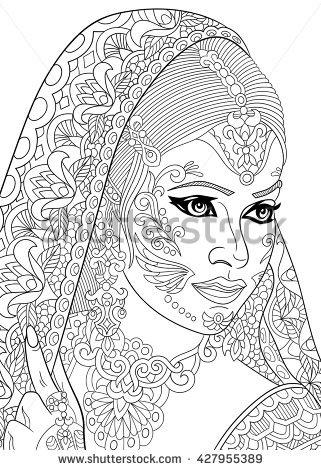 Bindi coloring #6, Download drawings