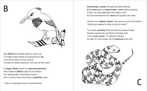 Bindi coloring #2, Download drawings