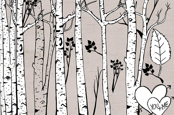 Birch clipart #14, Download drawings