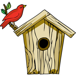 Bird House clipart #20, Download drawings