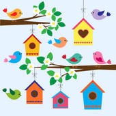 Bird House clipart #14, Download drawings