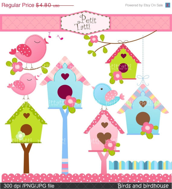 Bird House clipart #4, Download drawings