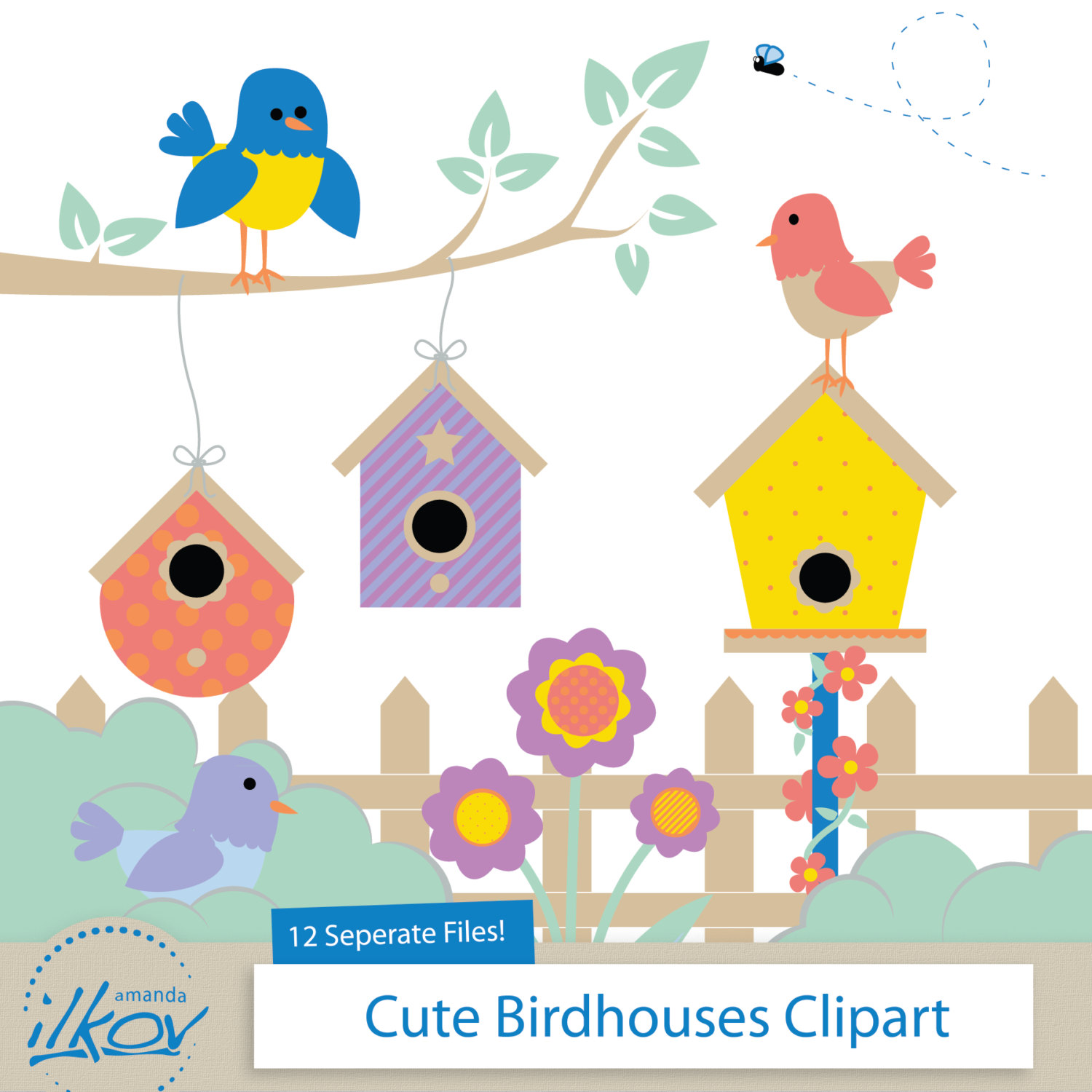 Bird House clipart #9, Download drawings