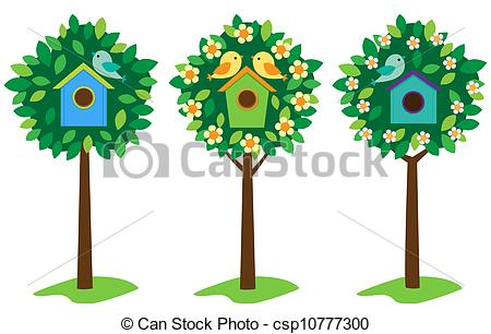 Bird House clipart #3, Download drawings