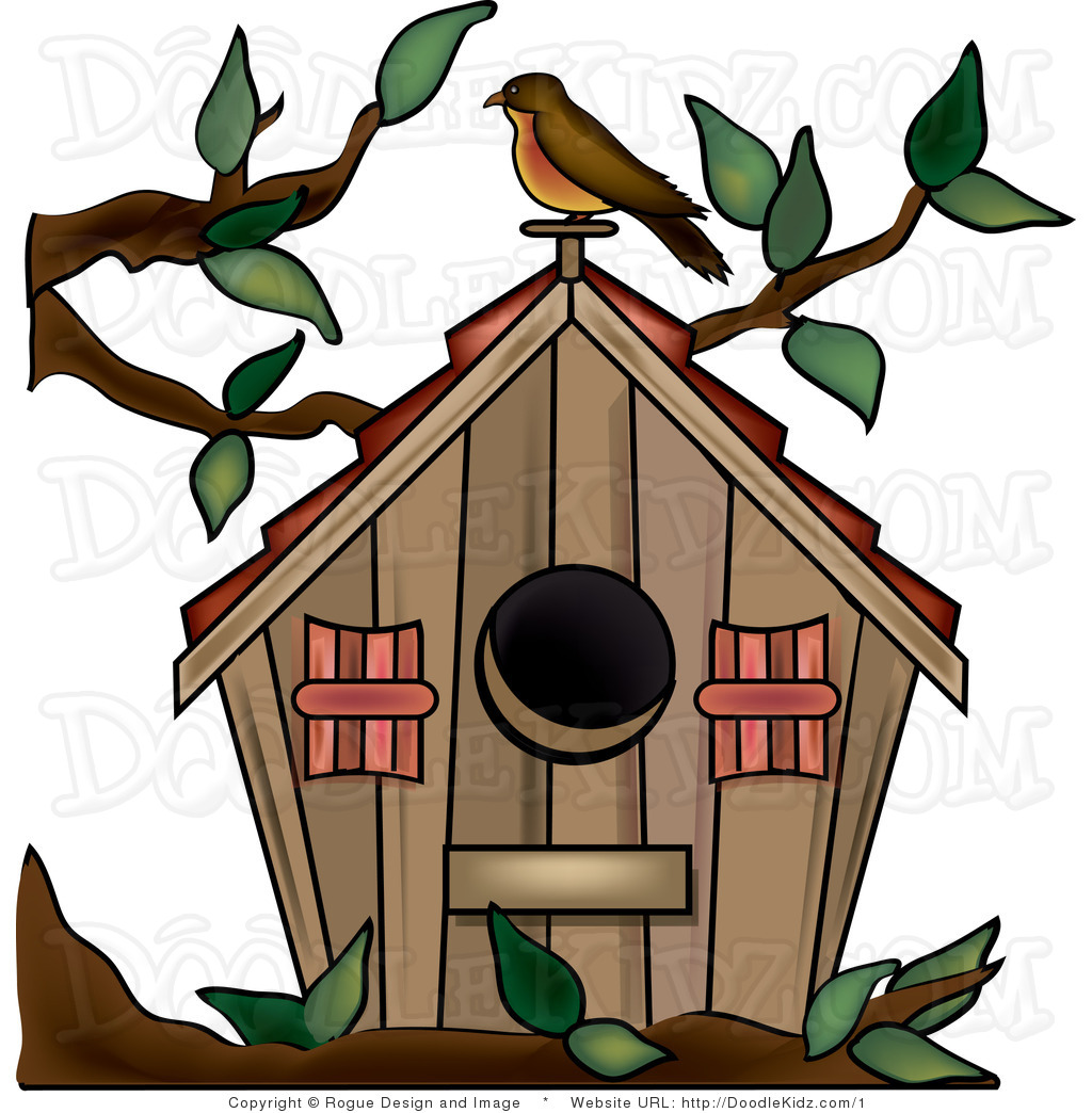 Bird House clipart #6, Download drawings