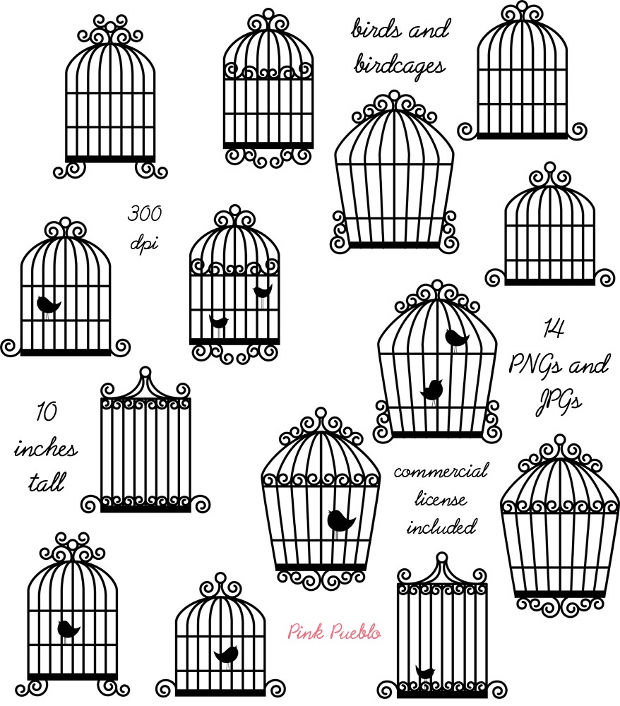 Birdcage clipart #11, Download drawings