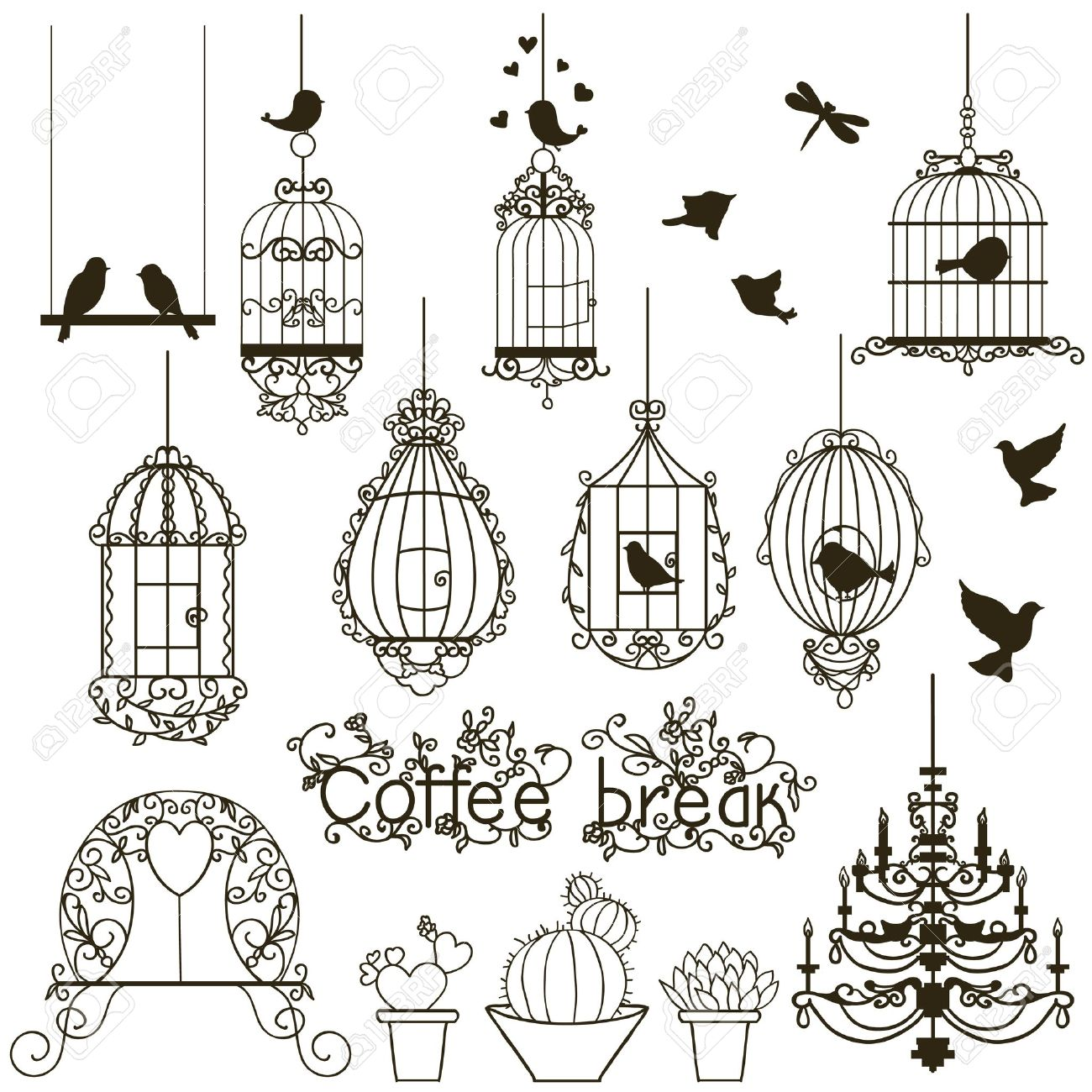 Birdcage clipart #20, Download drawings