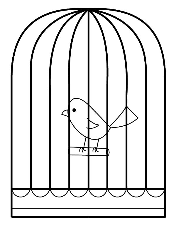 Cage coloring #16, Download drawings