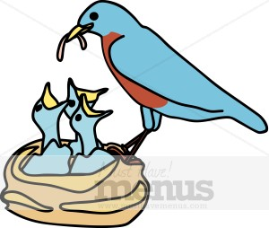 Birdfeeding clipart #19, Download drawings