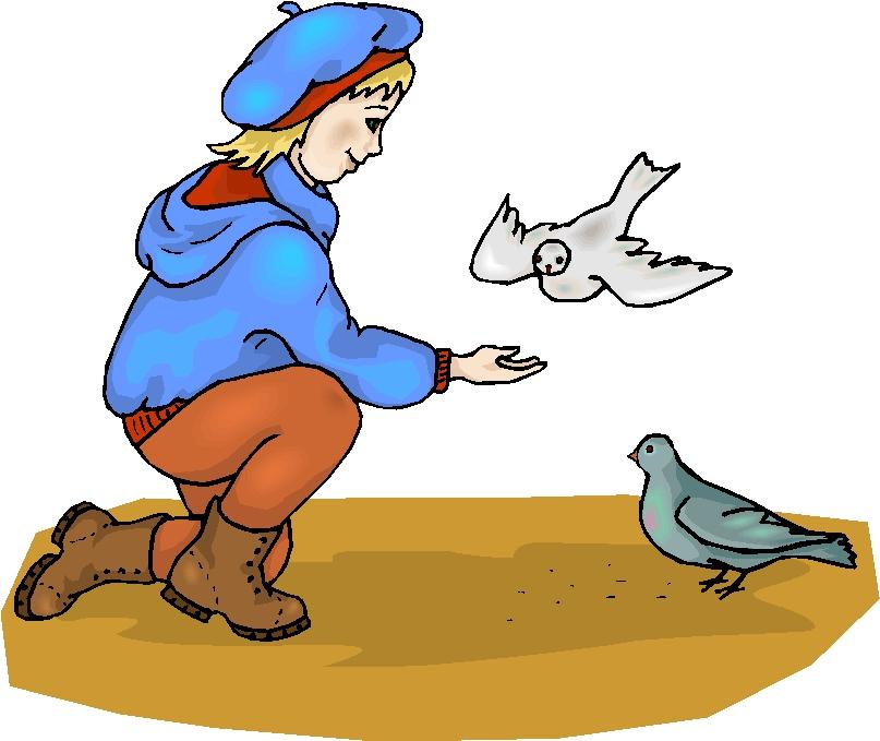 Birdfeeding clipart #1, Download drawings