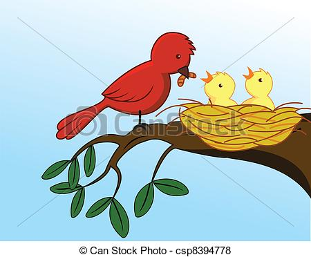 Birdfeeding clipart #5, Download drawings