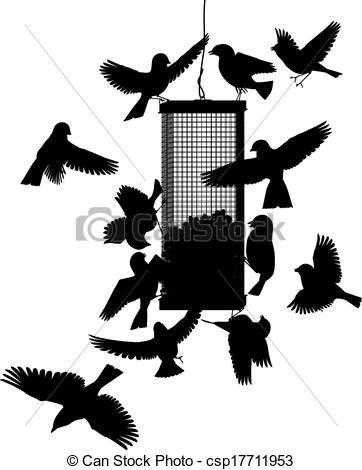 Birdfeeding clipart #13, Download drawings