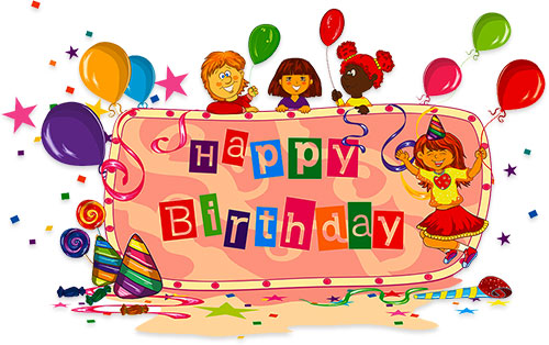 Birthday clipart #4, Download drawings