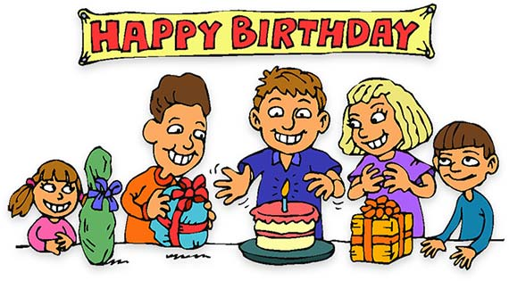 Birthday clipart #5, Download drawings