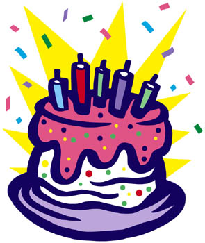 Birthday clipart #2, Download drawings