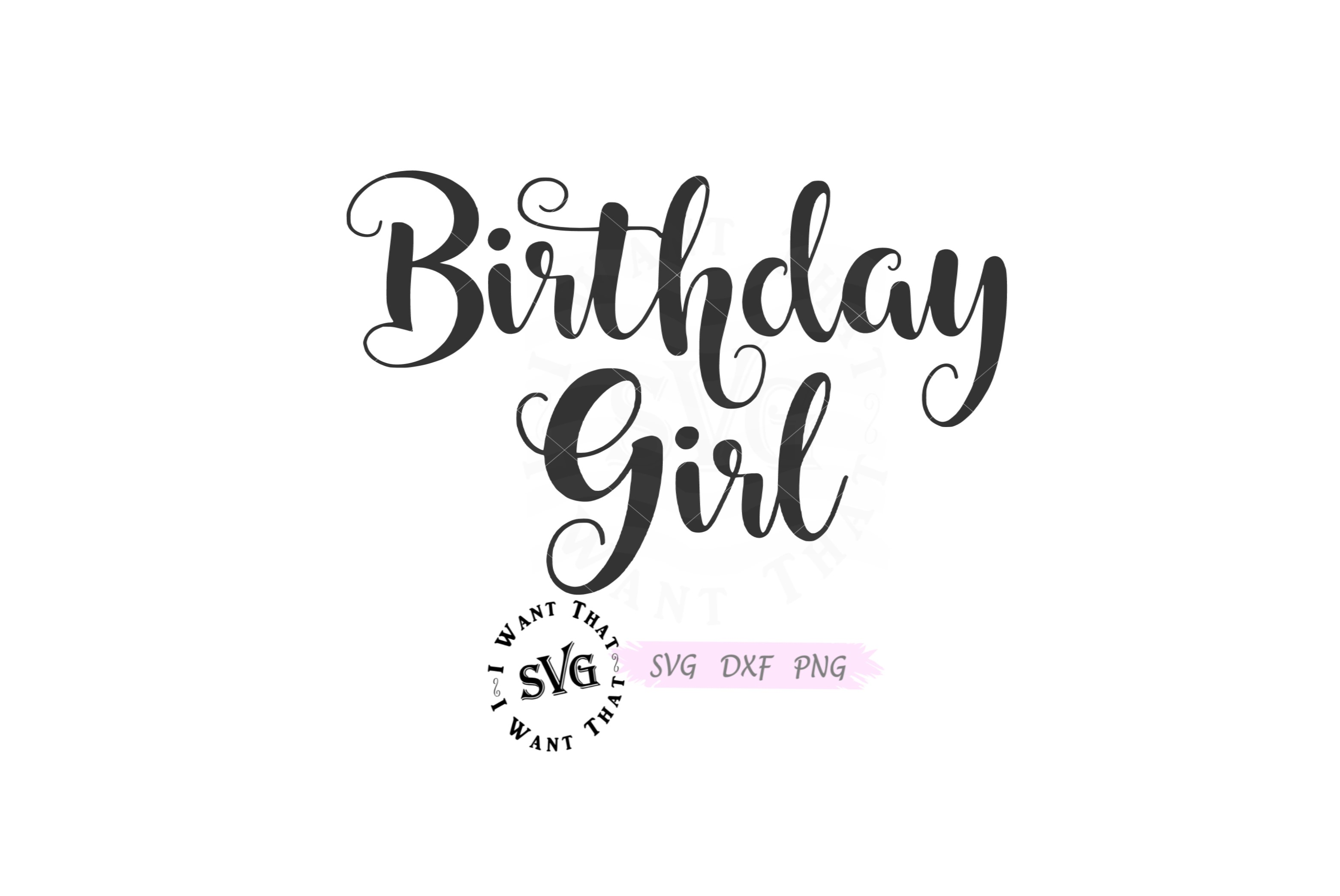 birthday girl svg #672, Download drawings