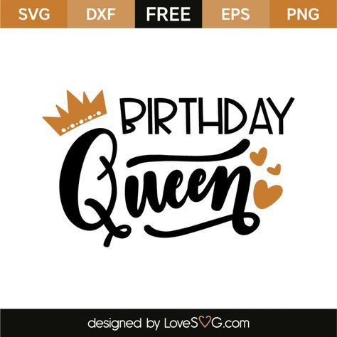 birthday queen svg #1131, Download drawings