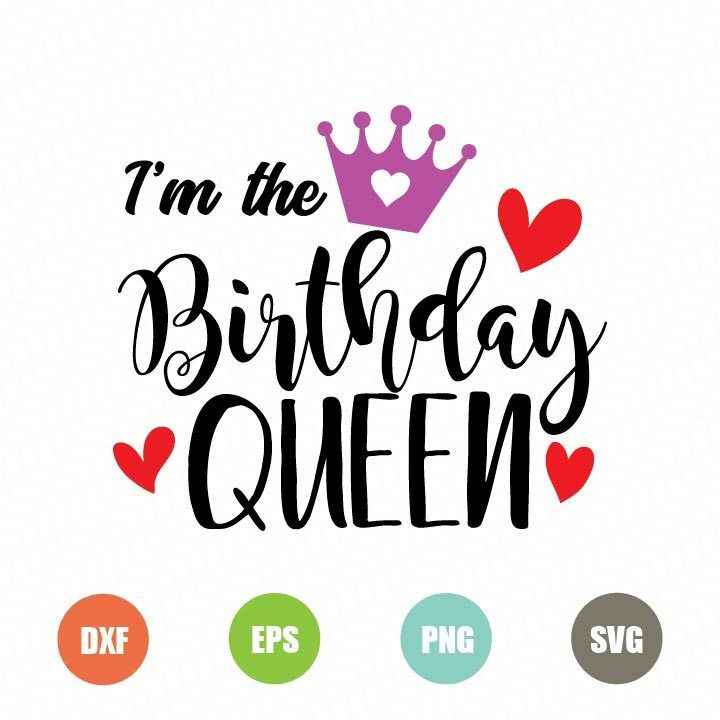 birthday queen svg #1138, Download drawings