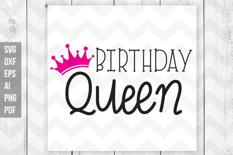 birthday queen svg #1142, Download drawings