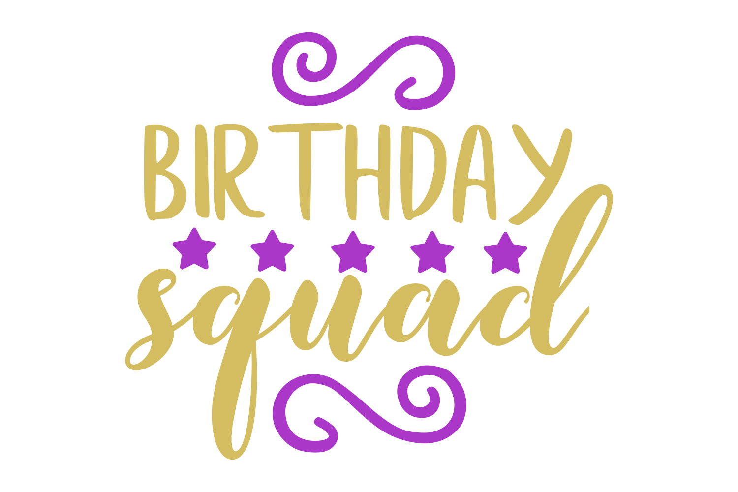 birthday squad svg #1093, Download drawings