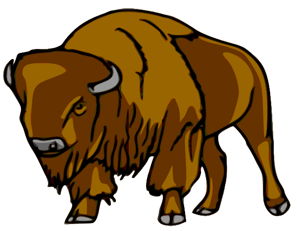 Bison clipart #16, Download drawings