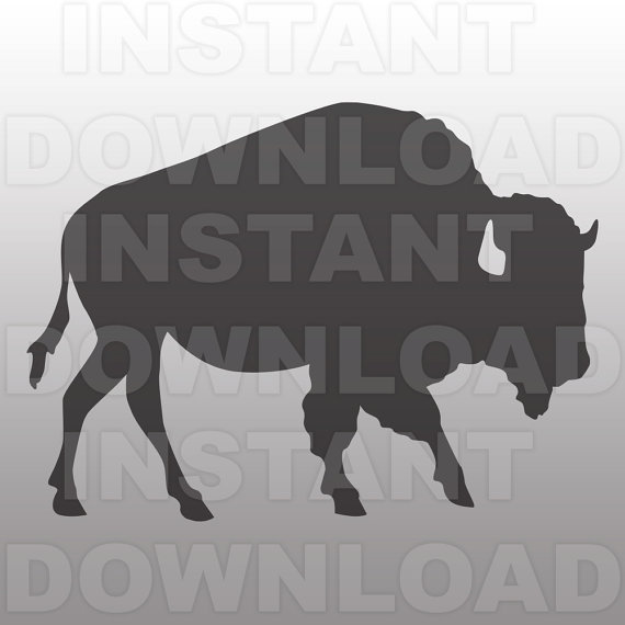 Buffalo svg #19, Download drawings