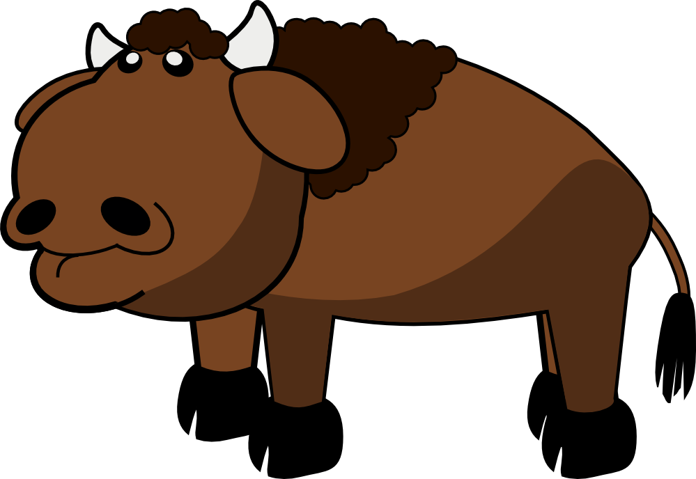 Bison svg #1, Download drawings