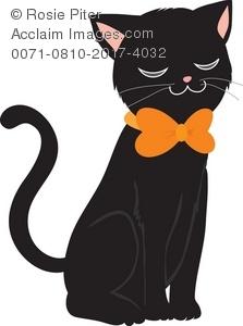 Black Cat clipart #6, Download drawings