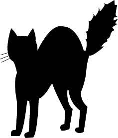 Black Cat clipart #19, Download drawings