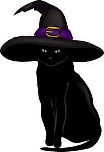 Black Cat clipart #2, Download drawings