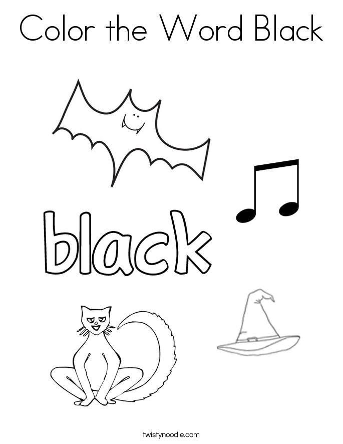 Black coloring #18, Download drawings