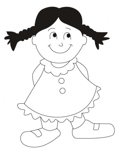 Black Dress coloring #12, Download drawings