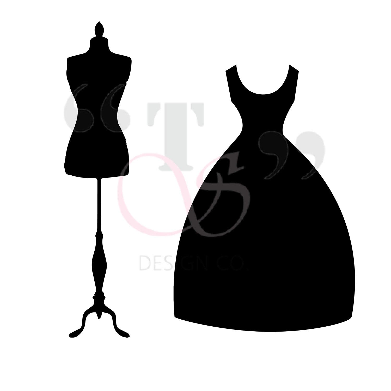 Black Dress svg #18, Download drawings
