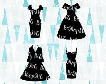 Black Dress svg #15, Download drawings