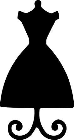 Black Dress svg #8, Download drawings