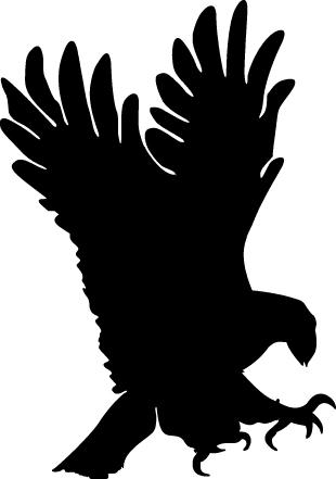 Black Eagle clipart #1, Download drawings