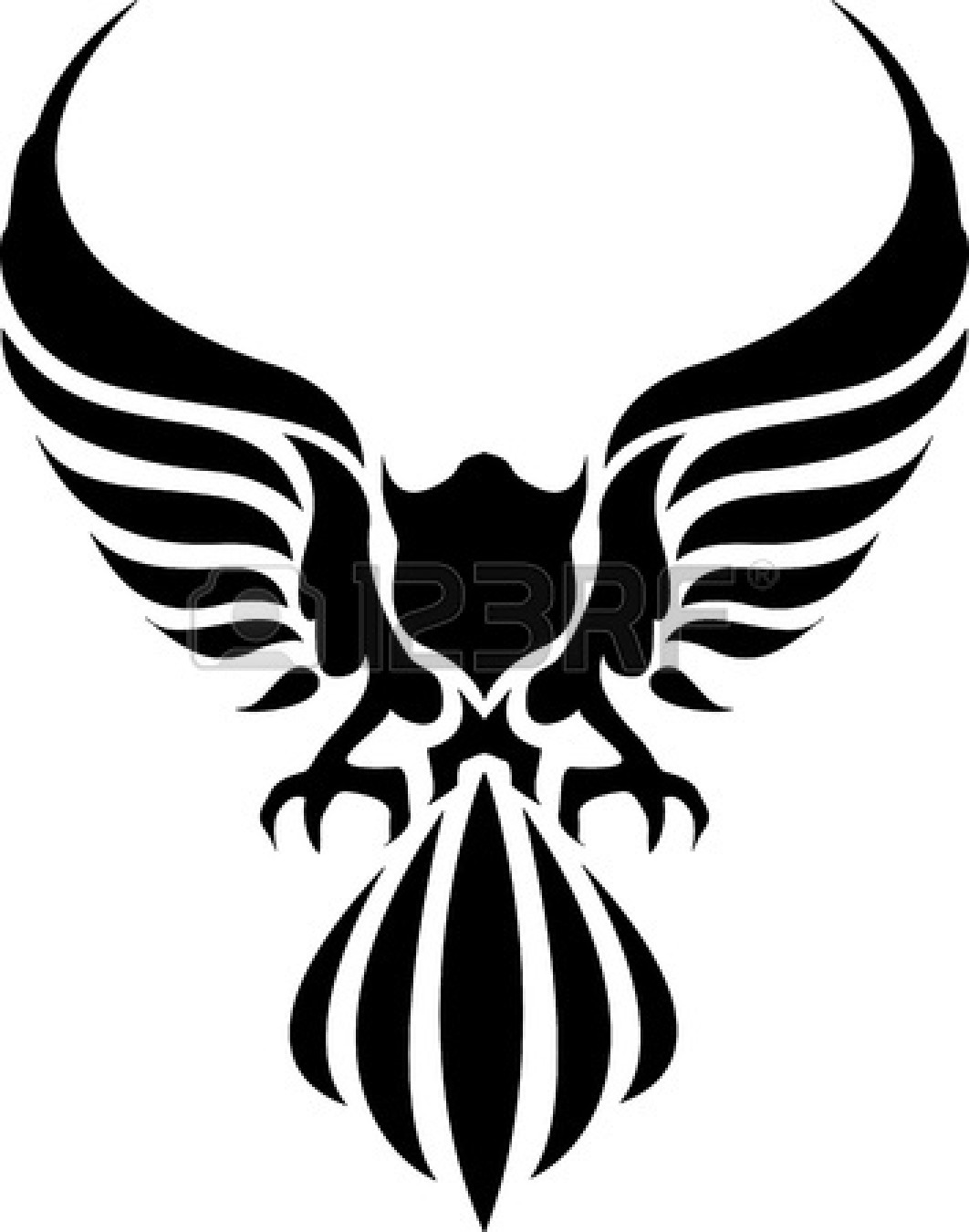 Black Eagle clipart #6, Download drawings