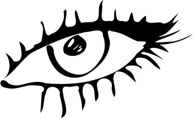 Black Eyes coloring #10, Download drawings
