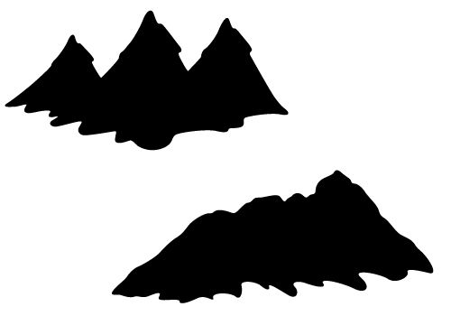 Black Mountain clipart #6, Download drawings