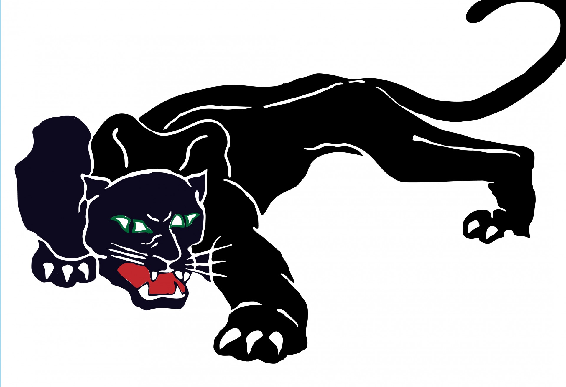 Black Panther clipart #8, Download drawings