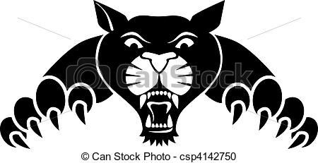 Black Panther clipart #7, Download drawings