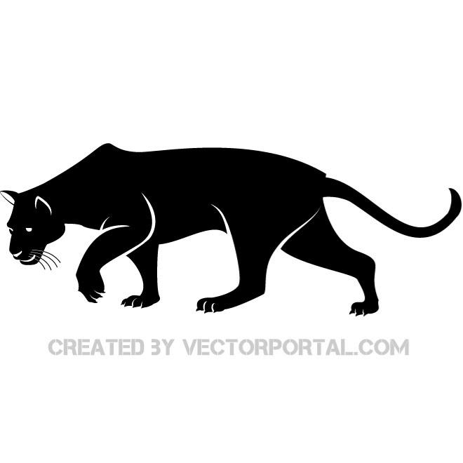 Black Panther clipart #18, Download drawings