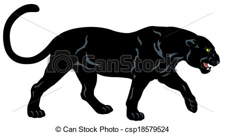 Black Panther clipart #1, Download drawings