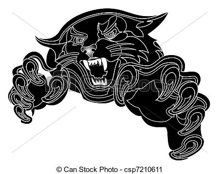 Black Panther clipart #14, Download drawings