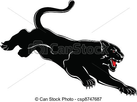 Black Panther clipart #5, Download drawings