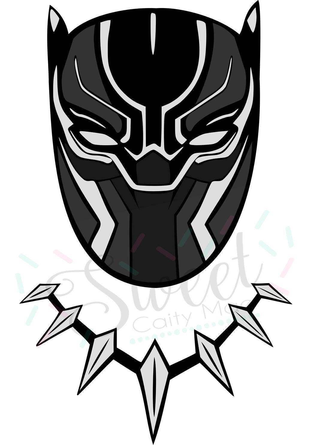 Black panther svg download black panther svg for Marvel black cat mask template
