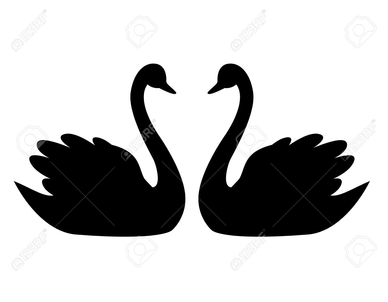 Black Swan clipart #3, Download drawings