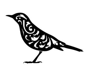 Black Trimian Warbler clipart #19, Download drawings